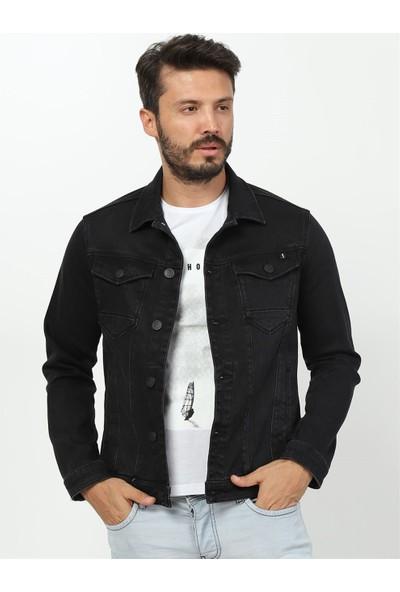 Twister Jeans Jack J24-10 Siyah Kot Ceket