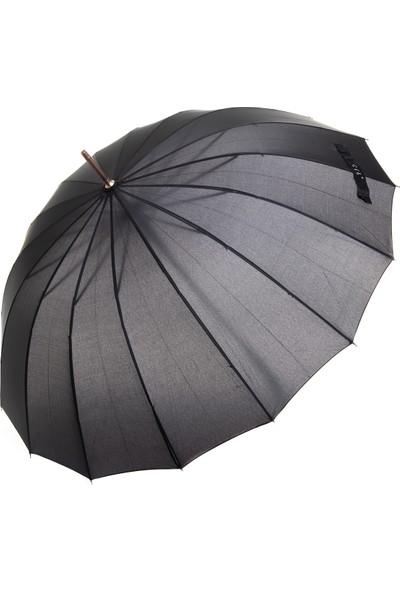 Fiber Parachase Full Otomatik Şemsiye PARACHASE702- Siyah