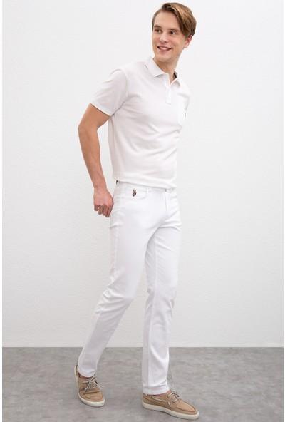 U.S. Polo Assn. Erkek Dokuma Spor Pantolon 50198796-Vr013