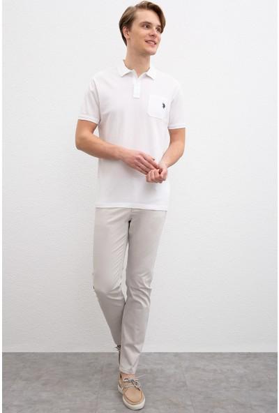 U.S. Polo Assn. Erkek Dokuma Spor Pantolon 50198796-Vr024