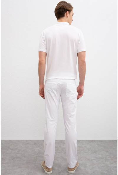 U.S. Polo Assn. Erkek Dokuma Spor Pantolon 50202959-Vr013