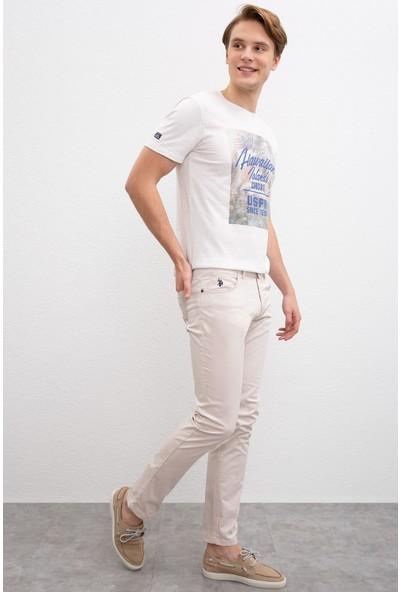 U.S. Polo Assn. Erkek Dokuma Spor Pantolon 50202959-Vr049