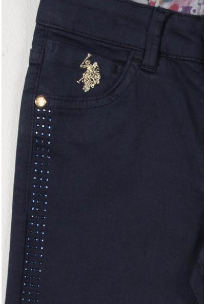 U.S. Polo Assn. Kız Çocuk Dokuma Spor Pant 50207568-Vr033