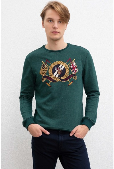 U.S. Polo Assn. Erkek Sweatshirt 50207609-Vr079