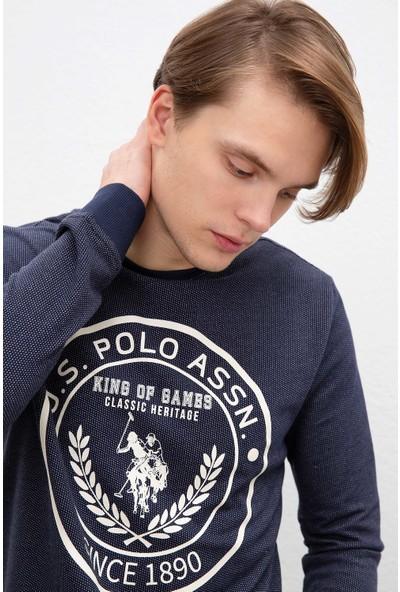 U.S. Polo Assn. Erkek Sweatshirt 50208653-Vr033