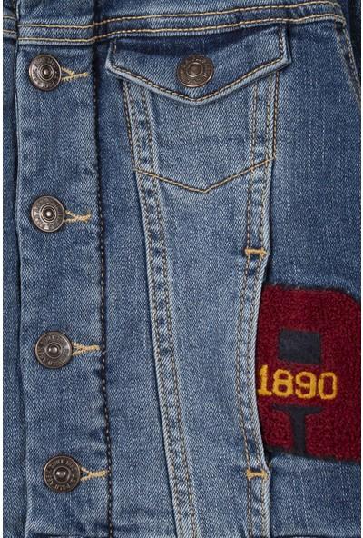U.S. Polo Assn. Erkek Çocuk Denim Gömlek 50209605-Dn0023