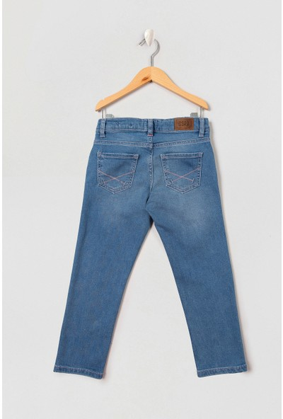 U.S. Polo Assn. Erkek Çocuk Denim Pantolon 50213529-Dn0022