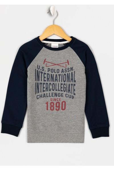 U.S. Polo Assn. Erkek Çocuk Sweatshirt 50215975-Vr086