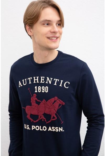 U.S. Polo Assn. Erkek Sweatshirt 50216287-Vr033