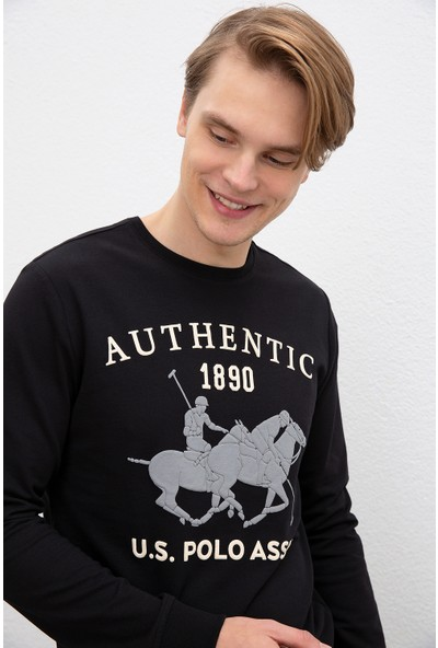 U.S. Polo Assn. Erkek Sweatshirt 50216287-Vr046
