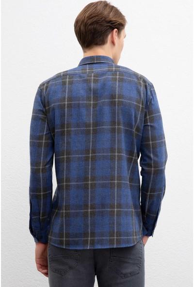 U.S. Polo Assn. Erkek Dokuma Gömlek 50220067-Vr033