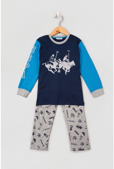 U.S. Polo Assn. Erkek Çocuk Pijama 50222979-Vr100