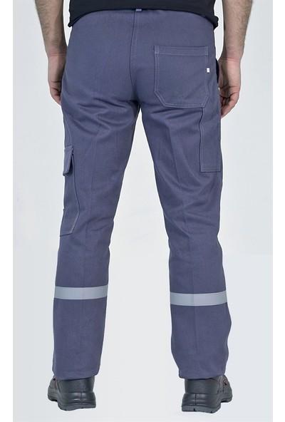 Şensel İş Pantolonu Kışlık Reflektörlü Kargo Cepli