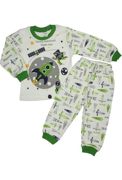 Süpermini Uzay Modelli Pijama Takımı