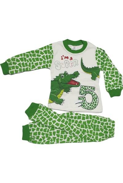 Süpermini Timsah Modelli Pijama Takımı