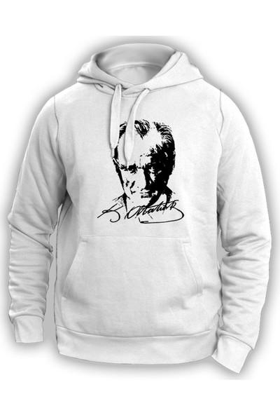 Vectorwear Atatürk İmza Silüet Unisex Sweatshirt