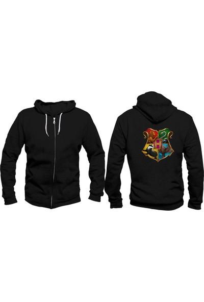 Vectorwear Harry Potter Fermuarlı Unisex Sweatshirt