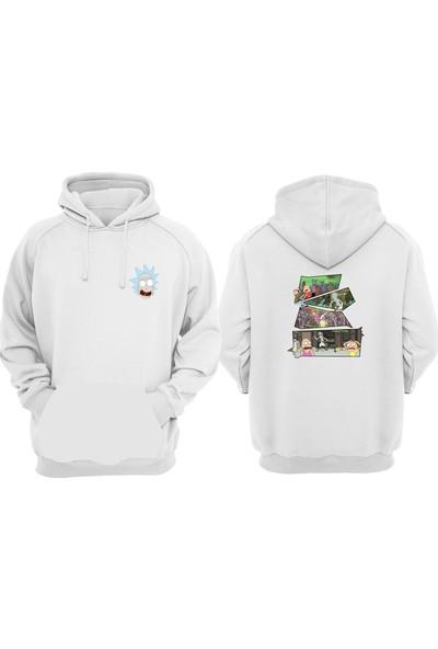 Vectorwear Rick And Morty Unisex Sweatshirt Hoodie