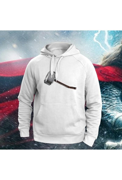 Vectorwear Thor Çekici Baskılı Unisex Sweatshirt