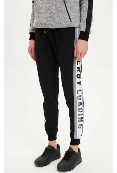Defacto Extra Slim Fit Baskılı Jogger Pantolon