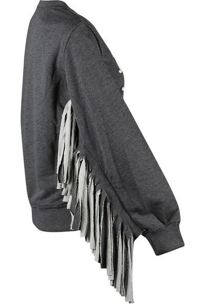 Duca Blanca 1809 Antrasit Kadın Sweatshirt