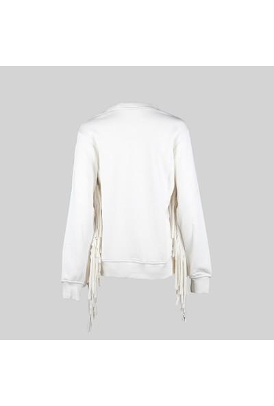 Duca Blanca 1809 Ekru Sweatshirt