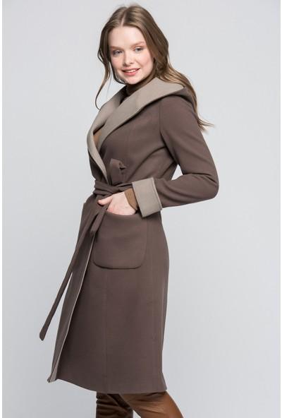Dewberry 6422 Kadın Palto