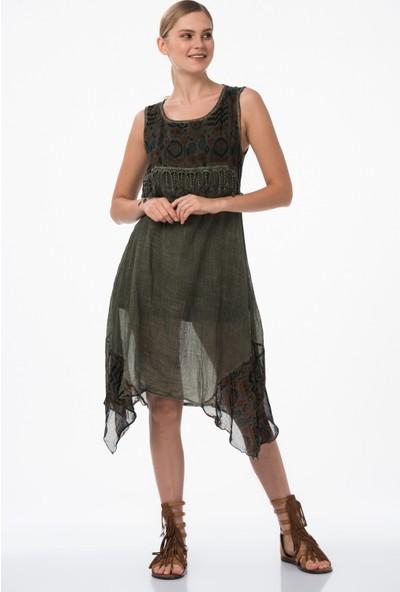 Dewberry Z6595 Kadın Elbise