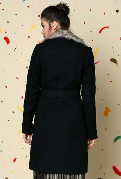 Dewberry Z6569 Kadın Palto