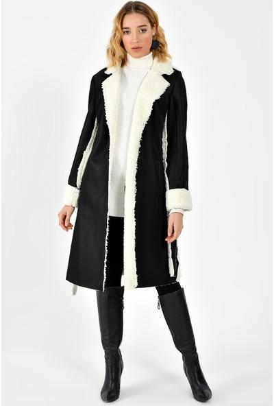 Dewberry Z6624 Kadın Palto