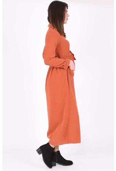 Sam Toni Tarçın Kadife Elbise