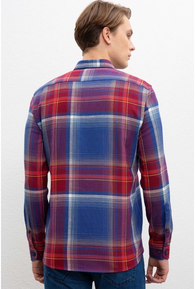 U.S. Polo Assn. Erkek Dokuma Gömlek 50213793-Vr014