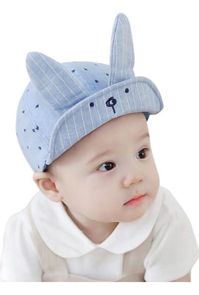 GOB2C WEIXINBUY Kulaklı Bebek Şapkası