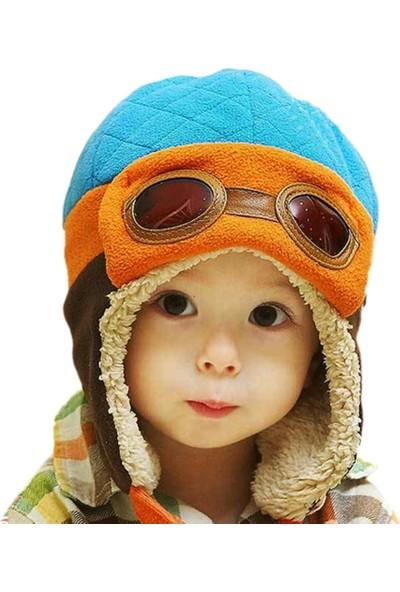 GOB2C Kulaklıklı Çocuk Şapkası 4 Renkte