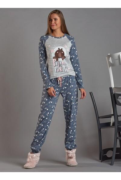 Sevim Pijama Mavi