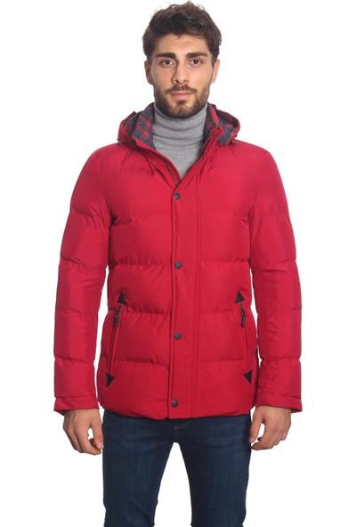 Diandor Erkek Şişme Mont Kırmızı