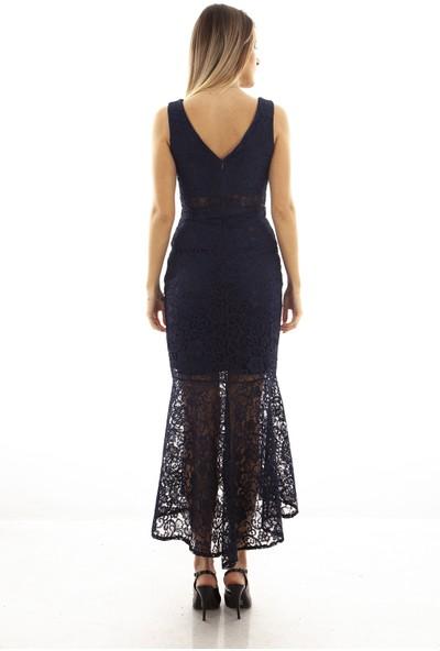 Arda New Line Kadın Lacivert Elbise 130112-11.02 38