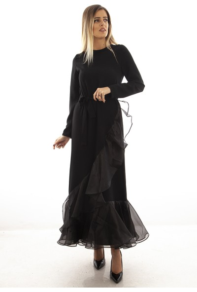 Arda New Line Siyah Elbise 3562040.01 36