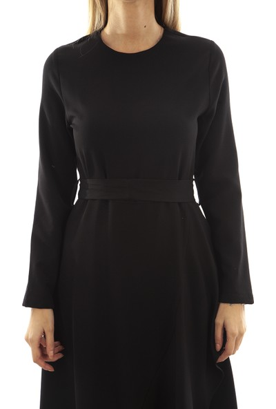 Arda New Line Kadın Siyah Elbise 7709084.01 36