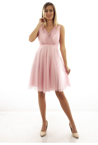 Arda New Line Kadın Pudra Elbise 9704507-10.79 36