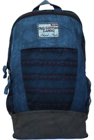 Old Cotton Cargo 5005 Lyon Bag Sırt - Okul - Seyahat - Laptop - Notebook Çantası