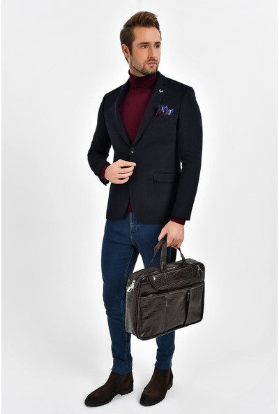 Centone Ceket Kaşe Comfort Fit 6 Drop 19-0270