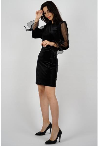 SpringStore Kadın Kadife Elbise