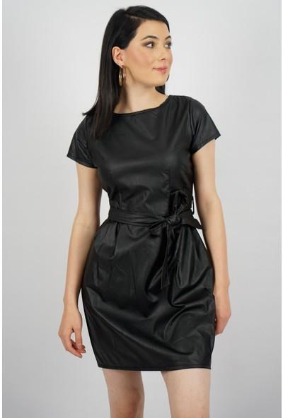 SpringStore Kadın Deri Elbise