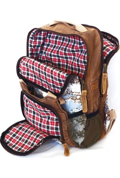 Old Cotton Cargo 5074 Abley Bag Sırt - Laptop - Notebook - Okul - Seyahat Çantası