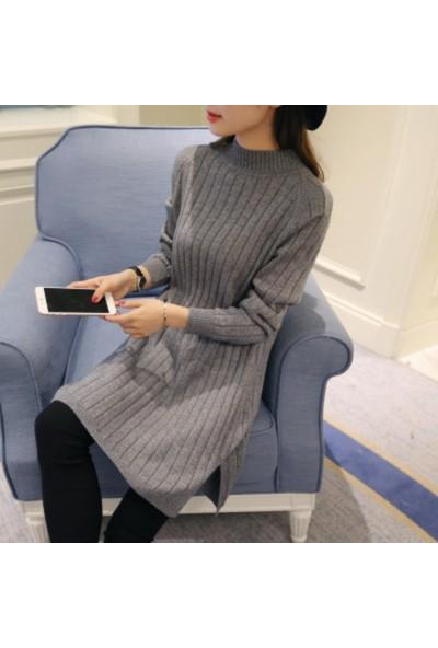 Gob2c Boğazlı Elbise