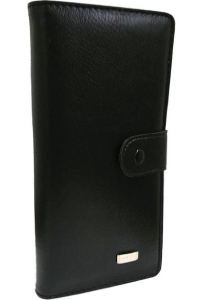 Solaksesuar Deri Telefon Bölmeli Portföy Cüzdan