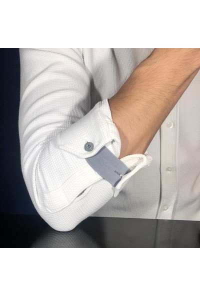 Minitiny Miniband - Eflatun Gömlek Manşeti