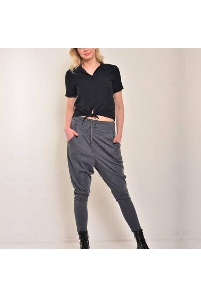 Alışveriş Sokağı Viskos Kumaş Kadın Şalvar Pantolon