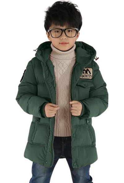 GOB2C Erkek Çocuk Kapüşonlu Kaz Tüyü Ceket